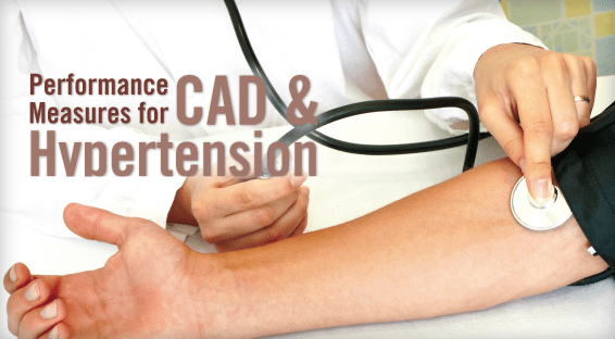 Performance Measures for CAD & Hypertension