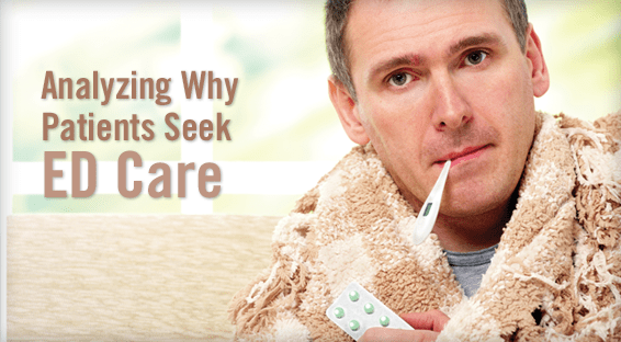 Analyzing Why Patients Seek ED Care