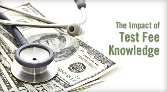 The Impact of Test Fee Knowledge