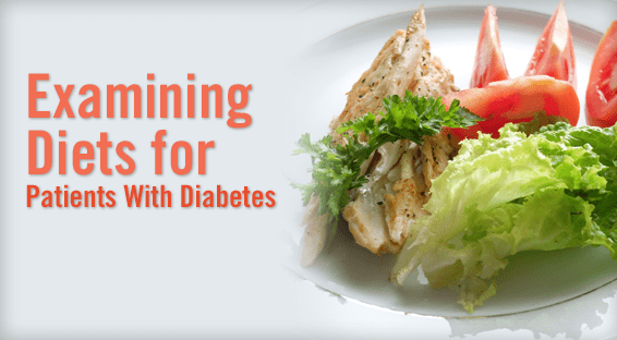 Examining Diets for Patients With Diabetes