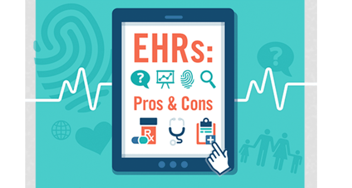 EHRs: Pros & Cons – Infographic