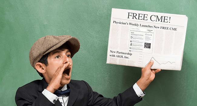 Free CME Here, Get Your Free CME!