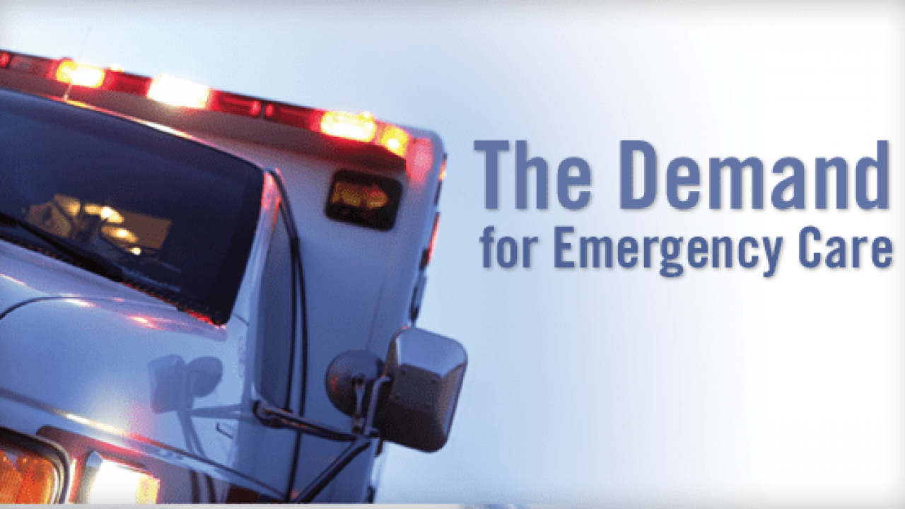 The Demand for Emergency Care | Physician's Weekly