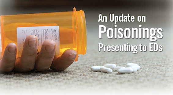 An Update on Poisonings Presenting to EDs
