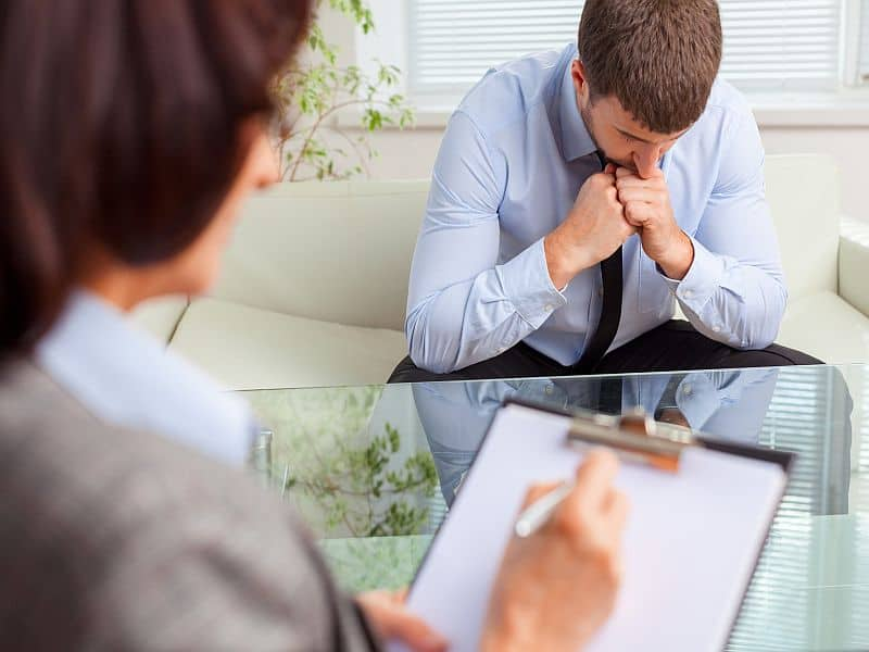 Cortisol Mediates Benefit for Early Session Psychotherapy