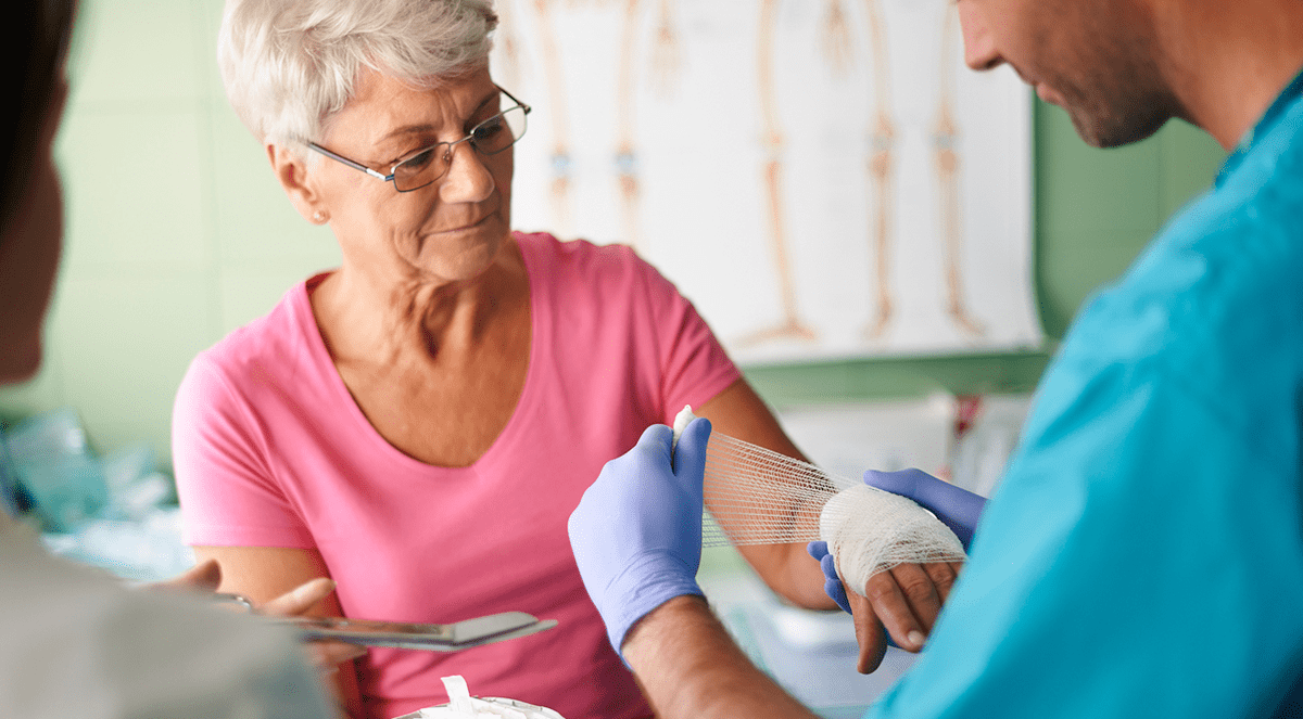Why wounds heal more slowly with age