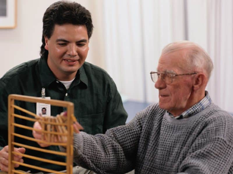 Occupational Therapy Ups Functioning in Frail Seniors