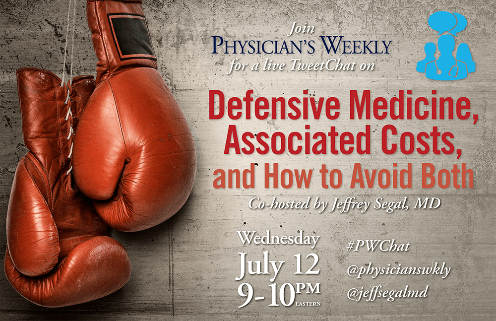 TweetChat: Defensive Medicine, Associated Costs & How to Avoid Both