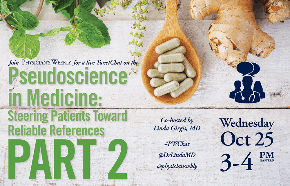 #PWChat – Pseudoscience in Medicine PART 2: Steering Patients Toward Reliable References