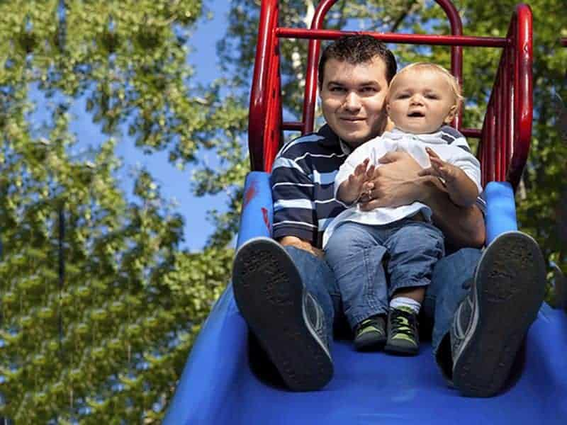 AAP Conference Highlight: Sliding on Lap Linked to Leg Fracture for Young Children