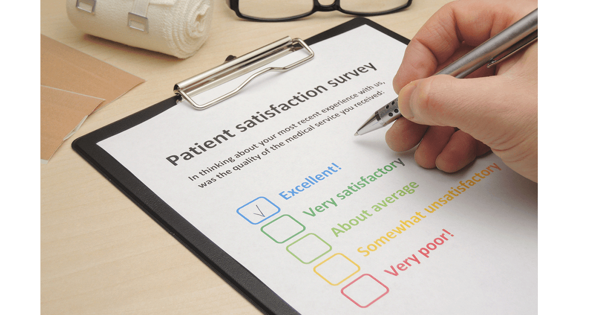 Patient satisfaction surveys are worthless