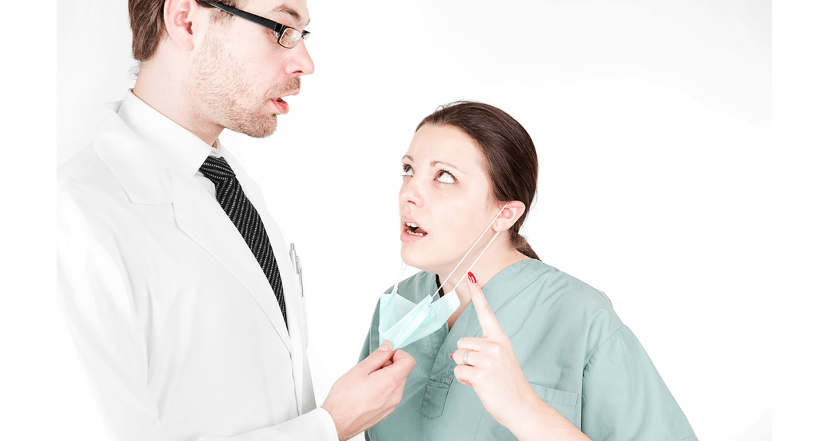 Things doctors should not do—like attacking their nurses