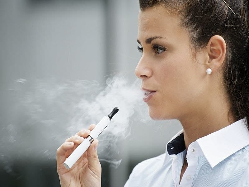 Chronic Vaping Exerts Biological Effects on Lungs