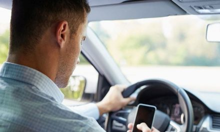 About Half of Child Caregivers Use Cellphones While Driving