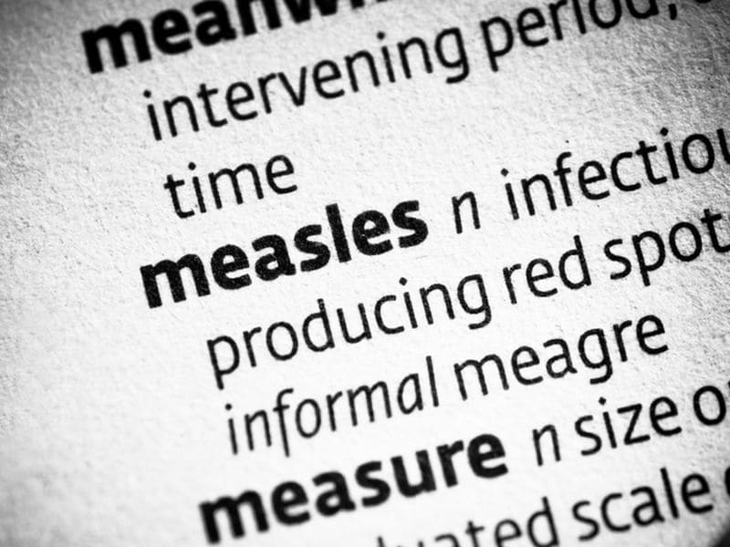 U.S. Travelers Should Be Aware of Measles Risk in Europe
