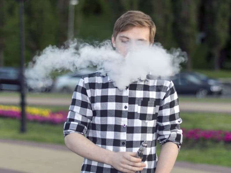 More U.S. Teens Are Vaping but Use of Opioids Alcohol Falling