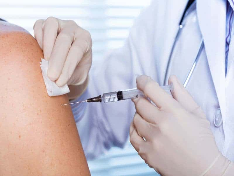 CHEST: Flu Shots Benefit Patients Hospitalized With Pneumonia