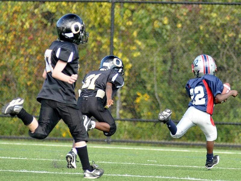 Incident Concussion 5.1 Percent Per Season for Youth Football