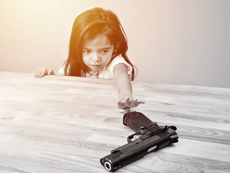 Most Pediatric Residents Report Caring for Gun Injuries