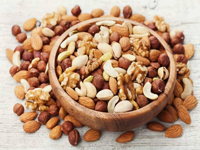 Nut Consumption Tied to Less Annual Weight Gain, Obesity