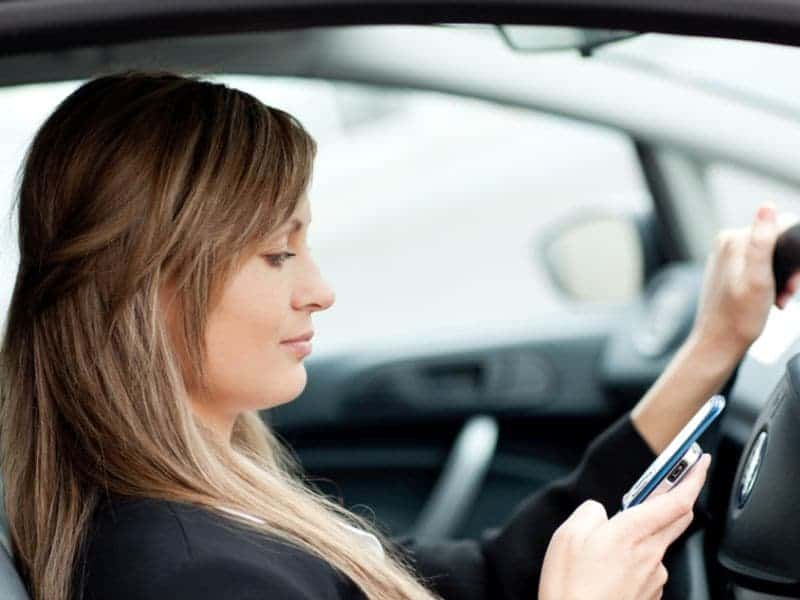 Millennial Parents Found More Likely to Drive Distracted