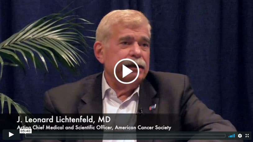 ASCO 2019 VIDEO: J. Leonard Lichtenfeld, MD