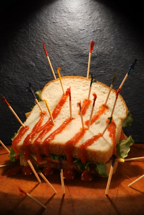 Next time you eat a club sandwich, think about this