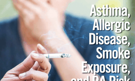 CME: Asthma, Allergic Disease, Smoke Exposure, and RA Risk
