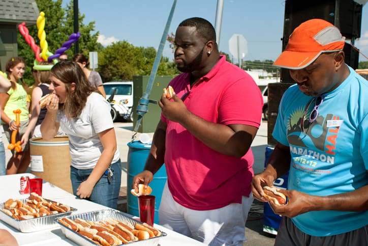 Should speed eating contests be banned?