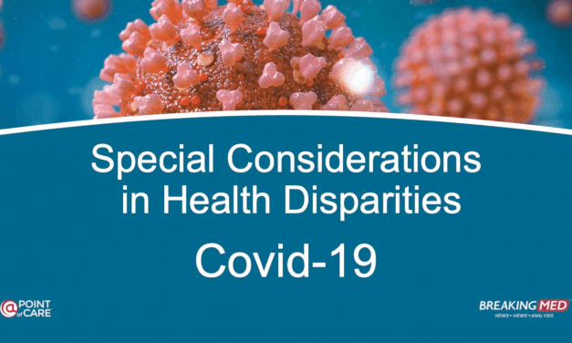 Special Considerations in Health Disparities: Covid-19