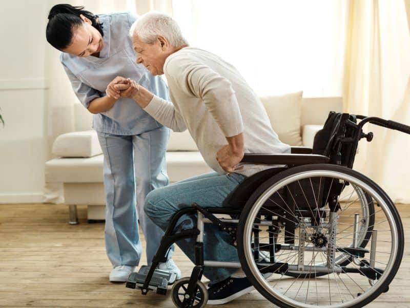Interdisciplinary Home Visits for Homebound Patients With Parkinson's Disease Maintain QOL