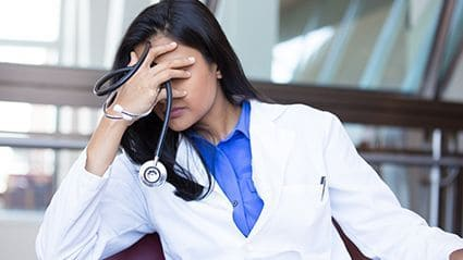 Depression Linked to Suicidal Ideation Among Physicians