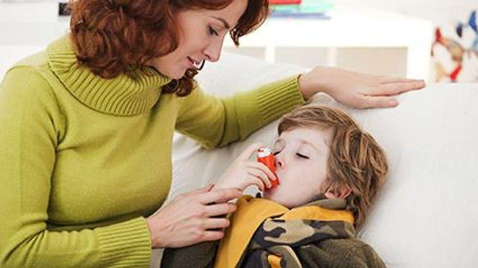 Risk for Asthma at Age 4 Years Higher After Pneumonia in Infancy
