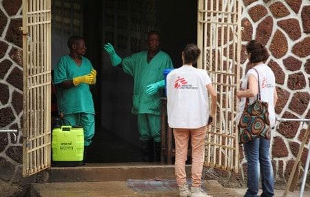 Congo to begin Ebola vaccinations on Monday