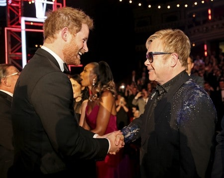 Prince Harry, Elton John to launch coalition against HIV in men