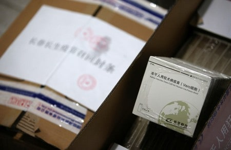 Chinese vaccine firm hit with probes as Beijing seeks to tamp down outrage