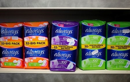 Scotland's Ayrshire to give free tampons to tackle period poverty