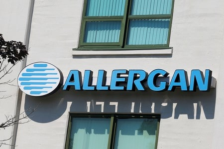 Allergan stops sale of textured breast implants in Europe, shares sink