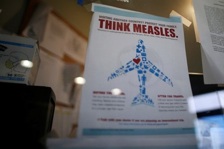 UK sees disease outbreak risk as child vaccination rates drop