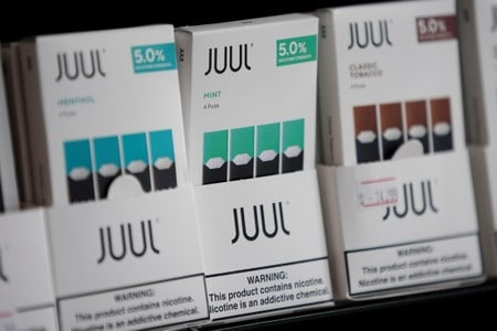 Two school districts sue Juul over vaping 'epidemic'