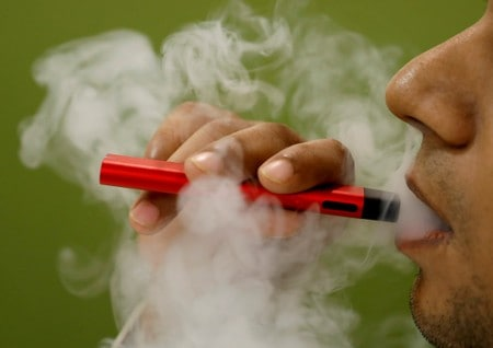 Smokers who switch to vaping rapidly boost heart health in trial