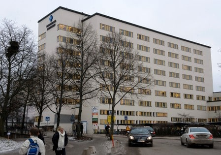 Swedish hospital on lockdown after report of suspected Ebola case