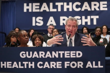 New York City launches $100 million universal health insurance program