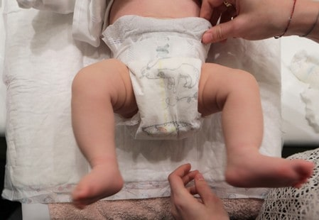 Toxic substances found in diapers in France: government agency