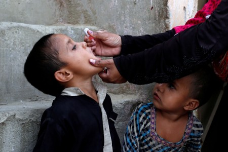 As polio goal nears, Pakistan pushes against vaccine misinformation