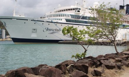 Scientology cruise ship leaves St. Lucia after measles quarantine