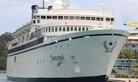 Scientology cruise ship faces renewed quarantine at home port in Curacao