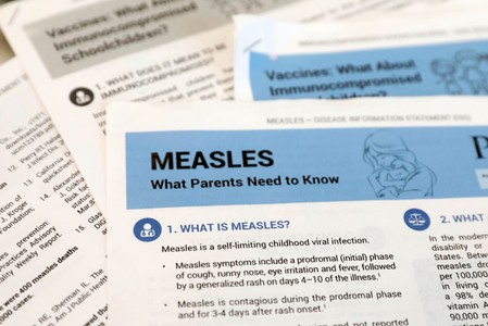 Amid U.S. measles outbreak, who needs an additional dose of the vaccine?