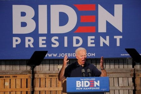 Biden healthcare plan draws contrast with White House rivals