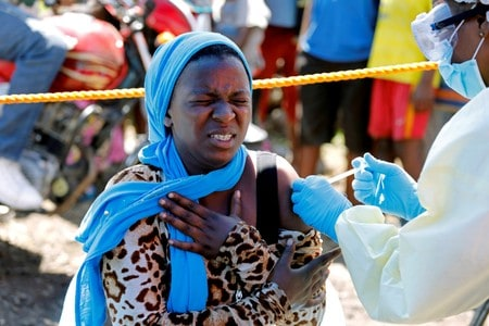 WHO says no new Ebola cases in Goma, vaccinates over 1,300